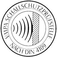 VMPA Schallschutzprüfstelle nach DIN 4109 Logo