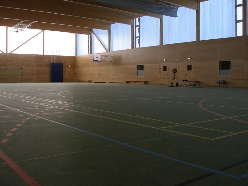 Bölsche Oberschule, 2-Feld-Sporthalle