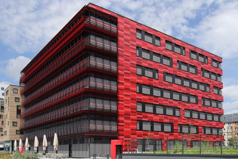 Bürogebäude Coca-Cola-Zentrale am Osthafen