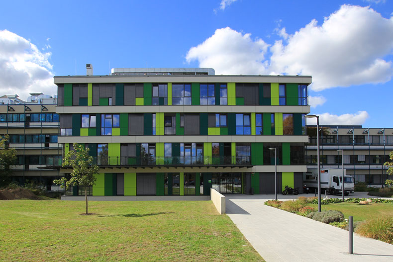 Max-Planck-Institut - Turm 3