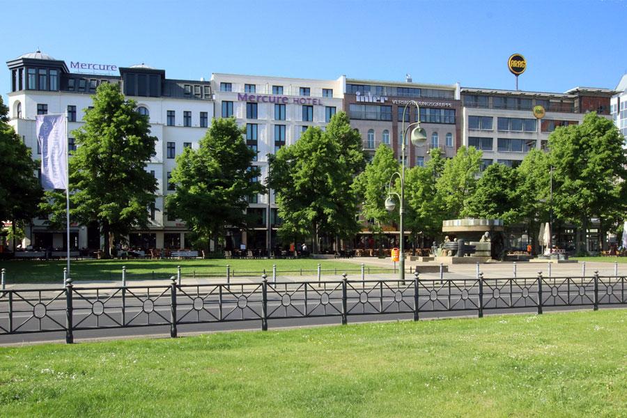 Beweissicherung Neubau Mercure Hotel Wittenbergplatz 3 – 3a